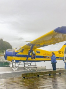 Louise Ungless Hoonah Seaplane